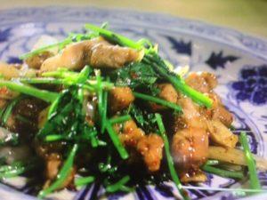 あさイチのクミンと豚肉の炒め物レシピ