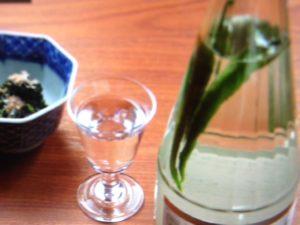 あてなよるの唐辛子のレシピとお酒