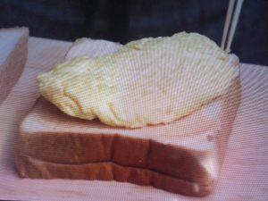 京都人の密かな愉しみで大原千鶴が作ったたまごサンドのレシピ