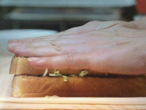 京都人の密かな愉しみで大原千鶴が作ったビフカツサンド