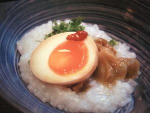 京都人の密かな愉しみで大原千鶴が作ったおかゆ